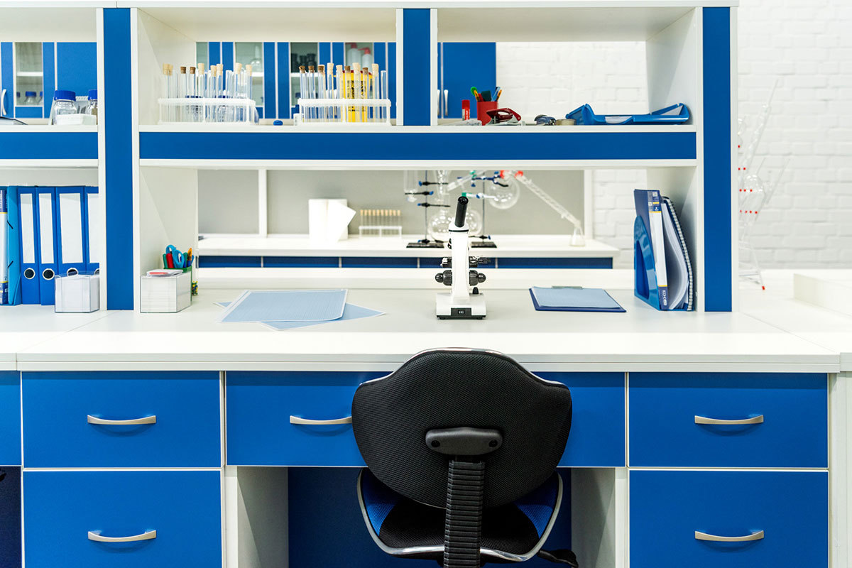 Laboratory Interior - Lightfield Photo Studio