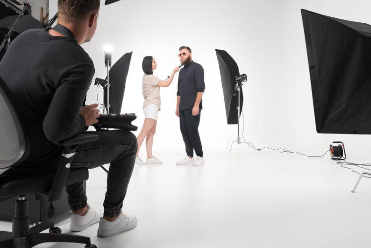 Commercial Photo Shoot - Lightfield Photo Studio